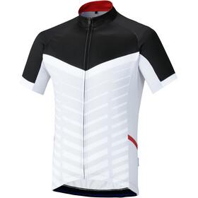 Shimano Climbers Maglietta a maniche corte Uomo, white